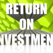 Return On Investment — Foto Stock