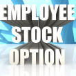 Stock Photo: Employee Stock Option