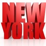 New York word — Stock Photo