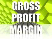 Gross Profit Margin — Stock Photo