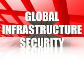 Global Infrastructure Security — Stock Photo