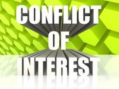 Conflict of Interest — Stock Photo