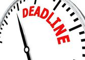 Deadline is coming — Foto de Stock