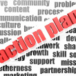 Action plan — Stock Photo #33683661