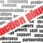 Action plan — Stock Photo #33683661