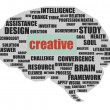 Creative brain — Stockfoto