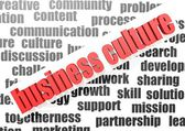 Business work of business culture — Stock Photo