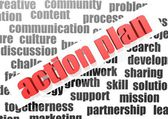 Action plan — Stock Photo