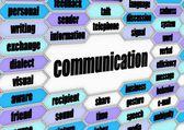 коммуникации — Стоковое фото