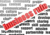 Business rule — Stock Photo