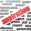 Stock Photo: Aspiration concept