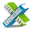 Knowledge Market — Stock Photo