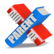 Parent guide — Stock Photo