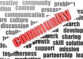 Community concept — Stock Photo