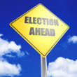 Election ahead — Stock Photo