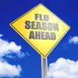 Flu seasion ahead — Foto de Stock