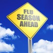 Flu seasion ahead — Stock Photo
