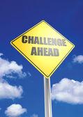 Challenge ahead — Stock Photo
