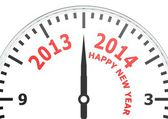New year of 2014 — Stock Photo