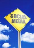 Social media — Stockfoto