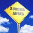 Success ahead — Stock Photo