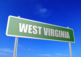 West Virginia — Foto de Stock