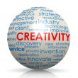 Creativity sphere — Stock Photo
