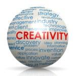 Creativity sphere — Stock Photo