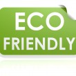 Eco friendly sticker — Stock Photo #34377769