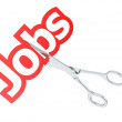 Cut jobs — Stock Photo