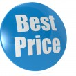 Best price badge — Stock Photo