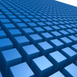 Blue box pattern — Stock Photo