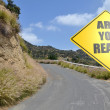 Are you ready with road — Stock Photo