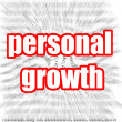 Personal Growth — Foto Stock