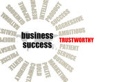 Trustworthy word — Foto de Stock