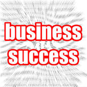 Business success — Stockfoto