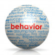 Behavior sphere — Stock Photo