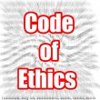 Code of Ethics — Stock Photo