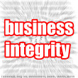Business integrity — Stock Photo