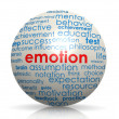 Emotion sphere — Stock Photo