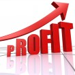 Profit increase — Stock Photo #34614699