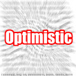 Optimistic — Stock Photo