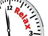 Relax clock — Foto Stock