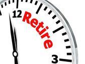 Retirar el reloj — Foto de Stock