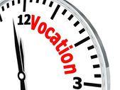 Vocation clock — Stock Photo