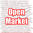 Open Market — Stock Photo