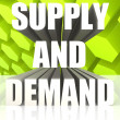 Supply And Demand — Stock fotografie