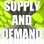 Supply And Demand — Stock Photo