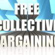 Free Collective Bargaining — Stock Photo #34647323