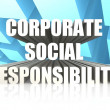 Corporate Social Responsibility — Stock Photo #34647549